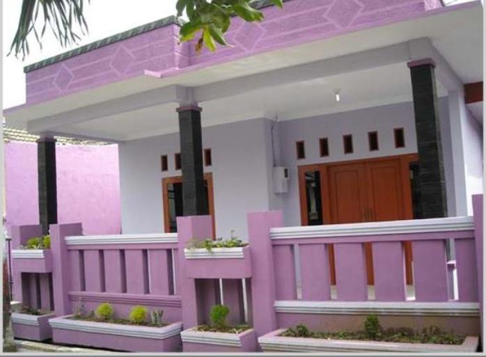 47 Gambar Rumah Cat Warna Pink Gratis Terbaik
