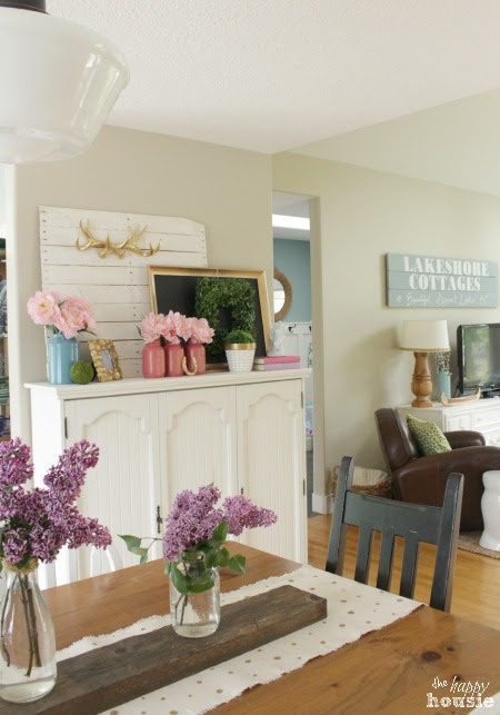 Living Dining Room Favourite Room Tour by The Happy Housie for Savvy Southern Style