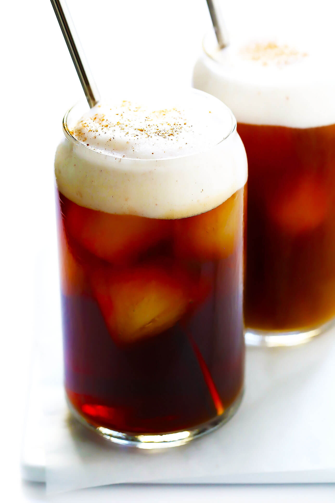 Pumpkin Cream Cold Brew (Starbucks Copycat)   Gimme Some Oven