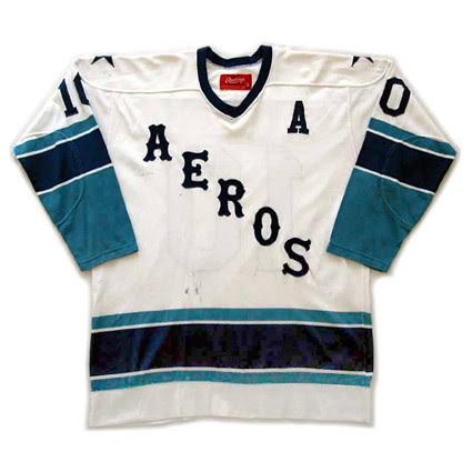 Houston Aeros 1974-75 F jersey
