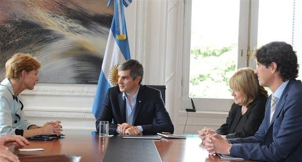 Kristie Kenney participó ayer de la reunión con Marcos Peña, Susana Malcorra y Martín Lousteau