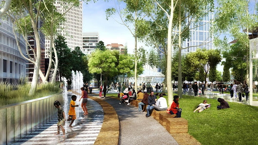 Building a neighborhood: Transbay amenities will enliven area - San Francisco Business Times