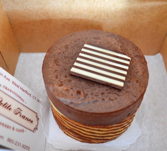 Mousse cake @ La Petit France