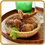 Fried Belachan Chicken