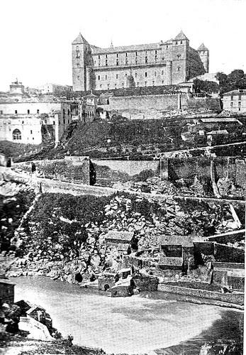 Alcázar de Toledo en el siglo XIX
