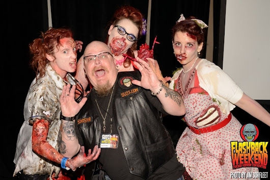 The 8th Annual Zombie Pinups Beauty Pageant at Flashback Weekend in Chicago This Weekend!