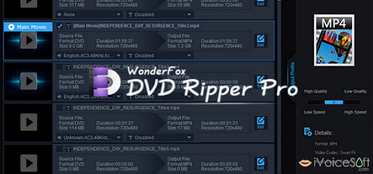 Rip Movies with WonderFox DVD Ripper Pro - iVoicesoft.com