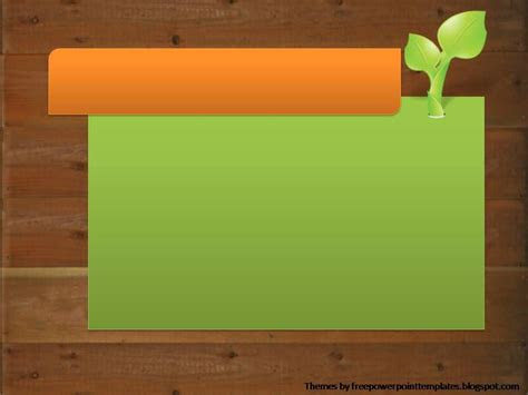 powerpoint templates plant powerpoint background