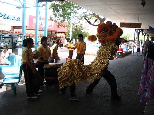 Chinese Lion dance Darwin