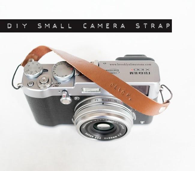 DIY Personalized Small Camera Strap | Brooklyn Limestone