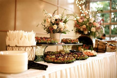Do it yourself reception food   Romantic Hometown Wedding