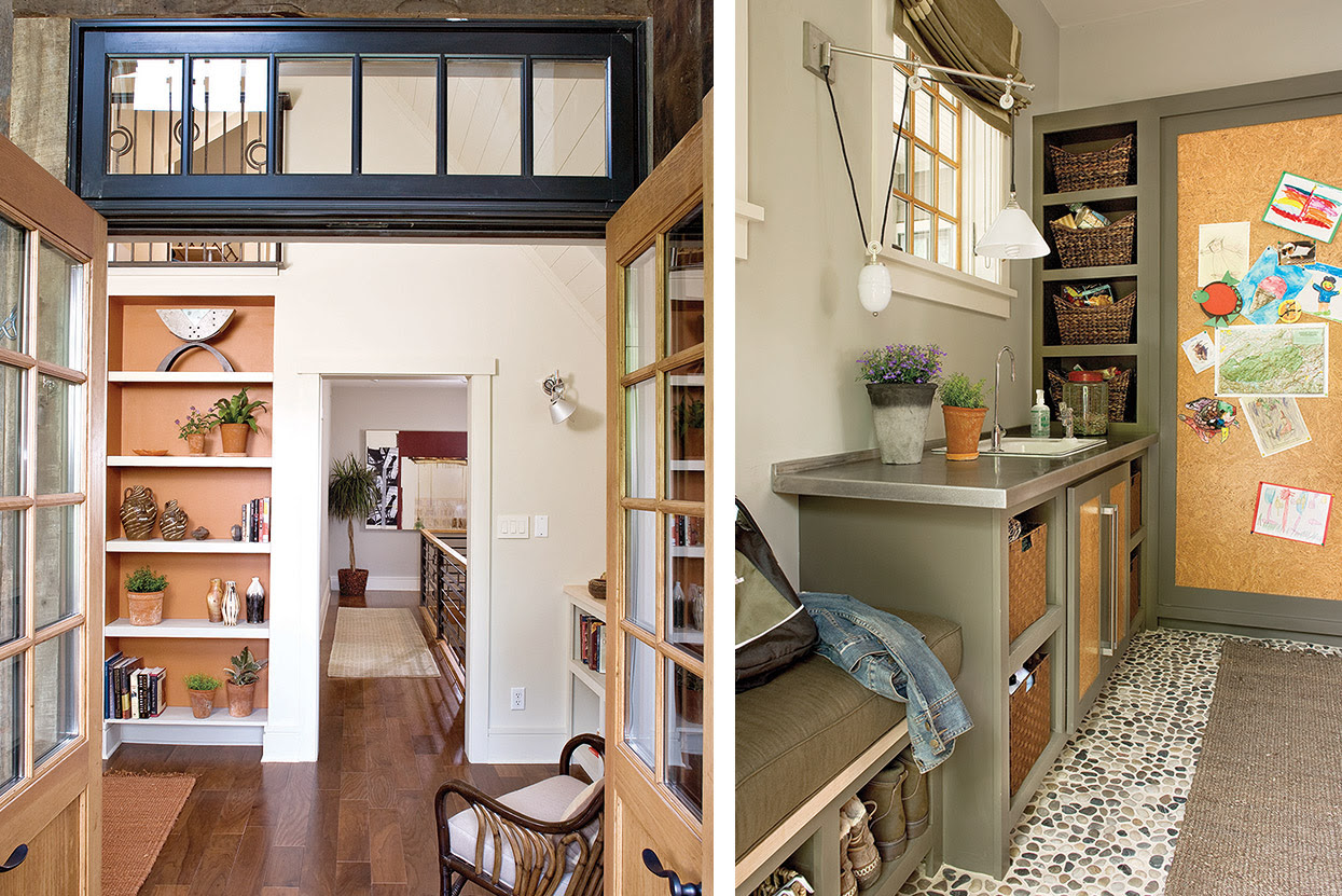 Southern Living Idea Home Mudroom Alchemy Design Studio