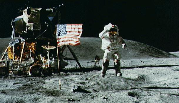 Apollo moon landings | Tacky Harper's Cryptic Clues
