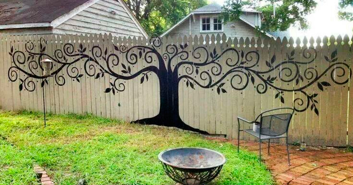 15+ People Who Took Their Backyard Fences To Another Level ...
