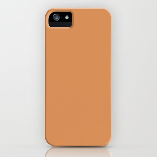 Persian orange iPhone Case