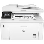 HP - LaserJet Pro M227fdw Black-and-White All-In-One Laser Printer - White