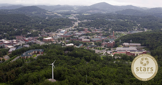 Appalachian earns No. 1 ranking from AASHE for sustainability among master's institutions