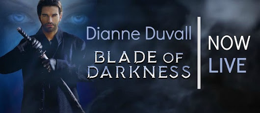 Review and Giveaway: Blade of Darkness by Dianne Duvall (@Mollykatie112, @DianneDuvall, @AuthorsTaproom)