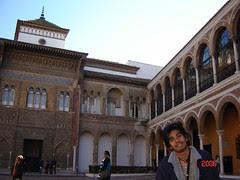 Dalam Real Alcázar, Seville, Spain
