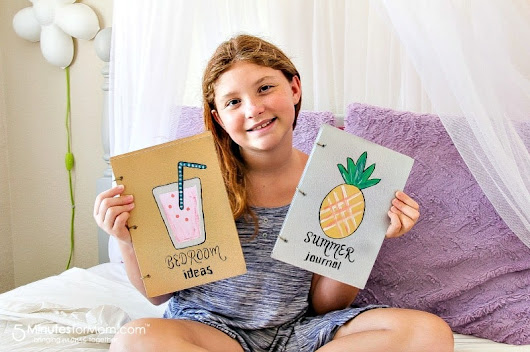 Kids Will Love These Handmade Journals for Summer