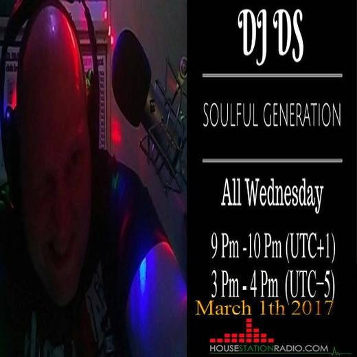 "Radioshow  DJ DS (SOULFUL GENERATION DJDS)  SOULFUL GENERATION LIVE SHOW ON HSR RADIO BY DJ DS (FRANCE) MARCH 1TH 2017<small style=""margin: 0 0 0 10px; font-size: 11px; color: #fff;"">original"