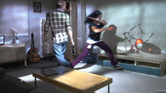 Microsoft's 'RoomAlive' Can Turn Your Living Room Into One Giant Xbox Game