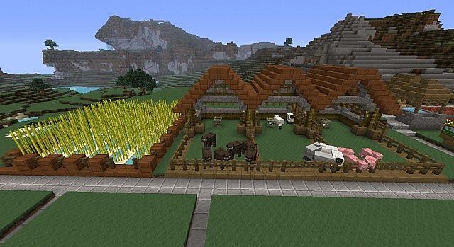 Sjin's Farm - Feed the World Vanilla Minecraft Project