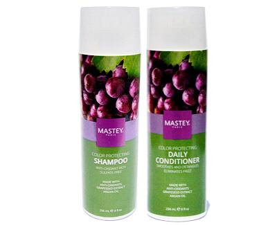 Mastey Paris Color Protecting Shampoo and Conditioner