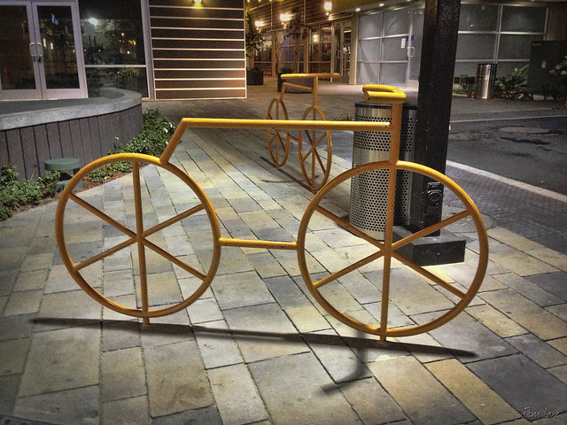 Downey Gateway bike rack
