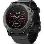 Garmin Fenix 5X Sapphire Ultimate Multisport GPS Watch, Size: 51 mm, Black