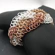 Braided European 4 and 1 Bracelet on Handmade Artists' Shop