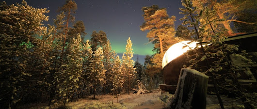 Northern Lights from the Aurora Bubble