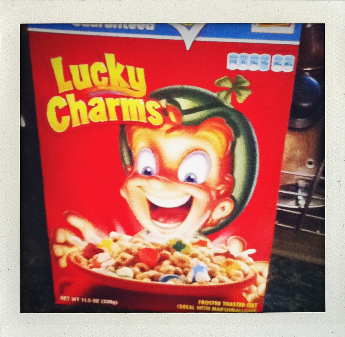 9.29.11, The best part of being an adult?  Buying the sugary cereal my mom would never buy for us growing up!