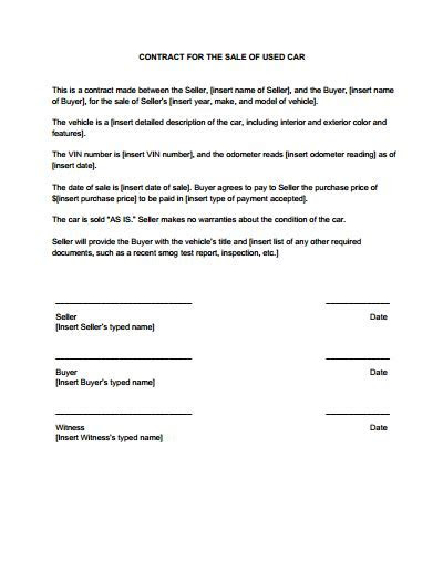 Sales Contract Template: Free Download, Create, Edit, Fill