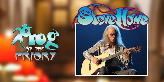 "Lancaster Music Fest on Twitter: ""STEVE HOWE @yesofficial performing in Lancaster NW England! Buy tickets at  #ProgatthePriory """