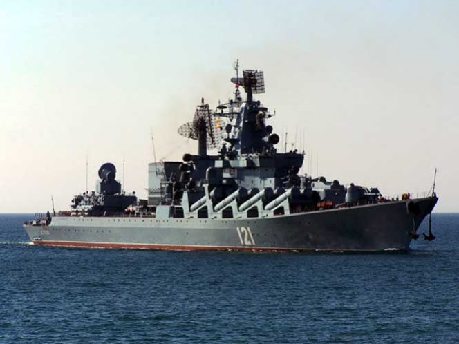 'Rotación planeada' llama Moscú a nuevos buques en el Mediterráneo