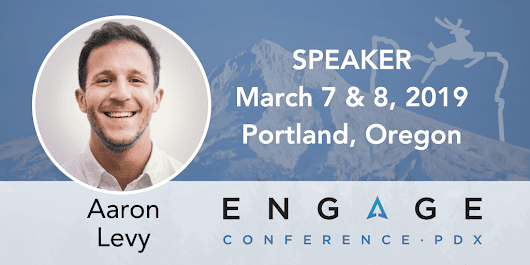 2019 Engage Mini-Interview: Aaron Levy | SEMpdx