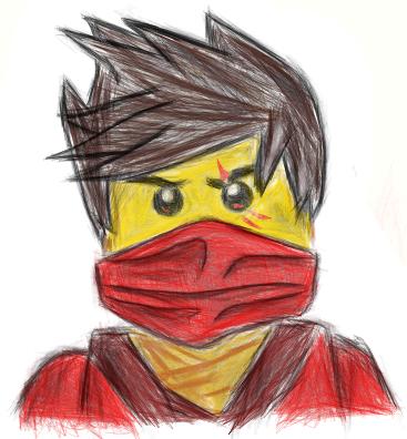 Kai Ninjago Drawing at GetDrawings | Free download