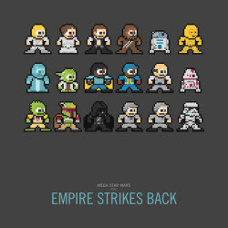 Mega Star Wars: Empire Strikes Back