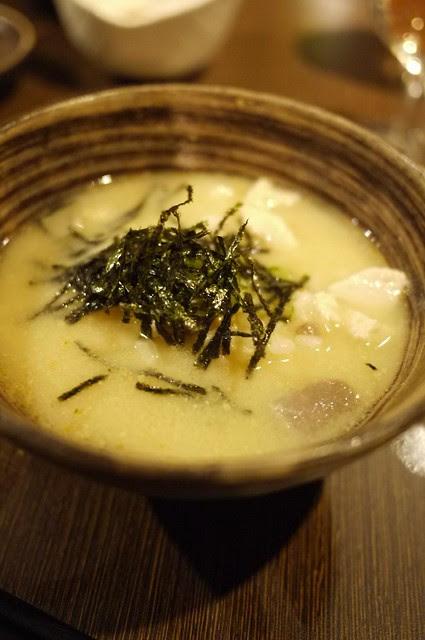 旗魚大蒜茶泡飯