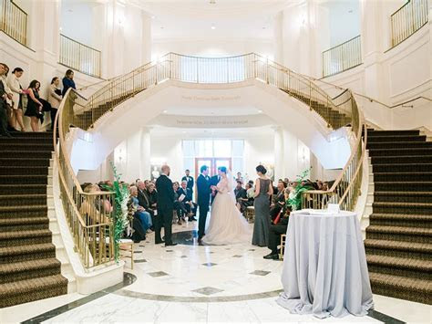 Classy Winter Wedding at NC State