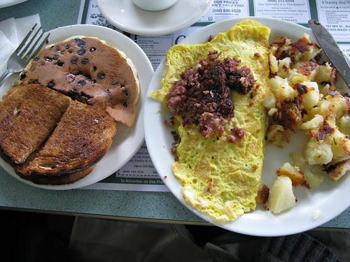 Olympia Diner breakfast