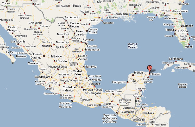 Our Interactive Map Of Cancun Mexico Lets You View