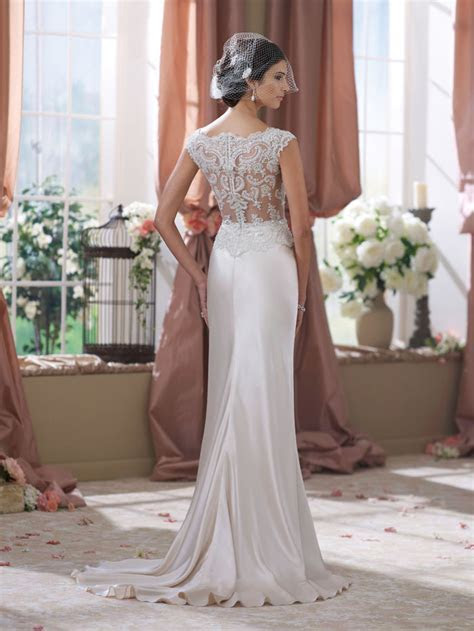 David Tutera for Mon Cheri Fall 2014 Collection   Modern