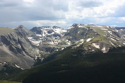 Forest Lakes from Trail Ridge
