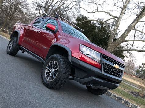 chevy colorado zr pickup truck review  business