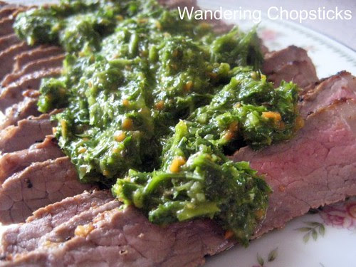 Argentinian Chimichurri Sauce 1