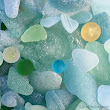 Sea Glass Beach Finds While Beach Combing Okinawa