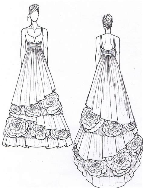 Janay A Handmade   2011 Eco Wedding Gown Design Preview