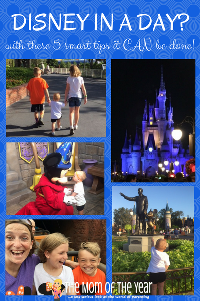 5 Must-Know Tips to Tackle Disney in a Day - The Mom of the Year